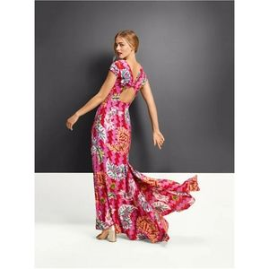 NWOT Zac Posen x Target Magenta Maxi Dress